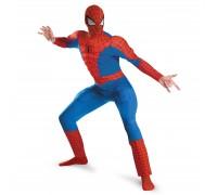 Взрослый костюм Человека-Паука с мускулами