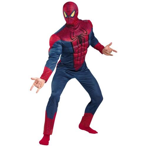 Настоящий костюм Человека-Паука с мускулами