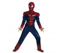 Детский костюм нового Человека-Паука 2 с мускулами