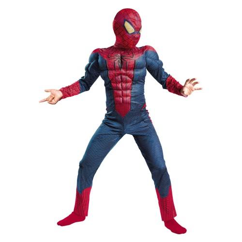 Классический детский костюм Человека-паука с мускулами