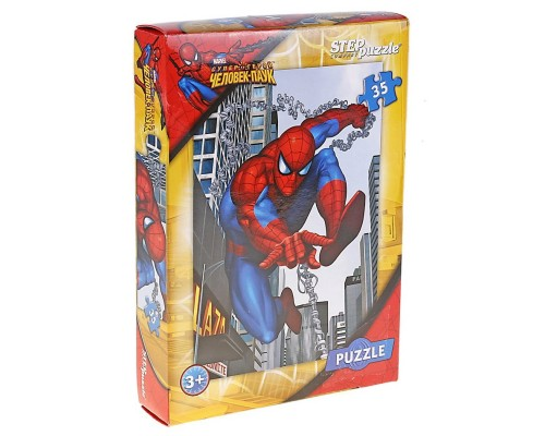 Картонный пазл Человек-паук 35 элементов