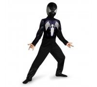 Черный костюм Человека-Паука (Венома) без мускулов