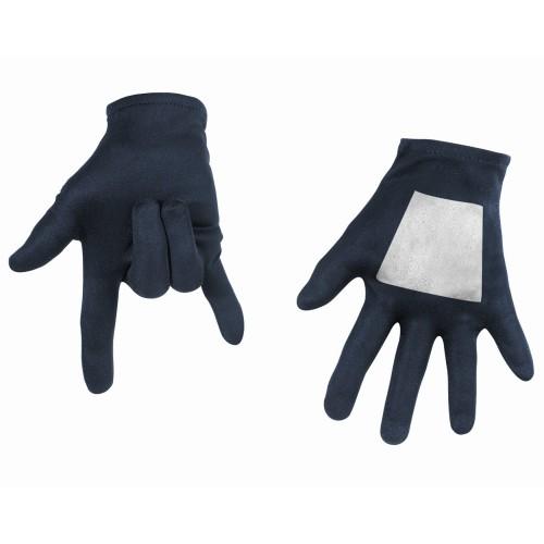 Чёрные детские перчатки Человека-паука