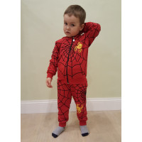 Спортивный костюм Человека-Паука из хлопка