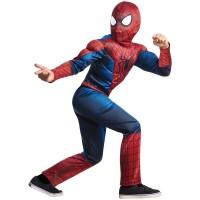 Детский костюм нового Человека-Паука с мускулами, 7-8, 10-12 лет