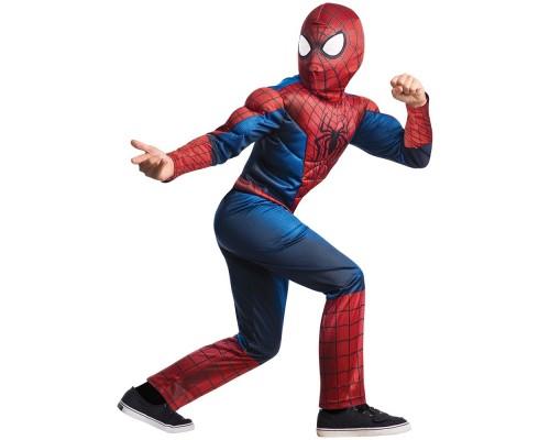 Детский костюм нового Человека-Паука с мускулами