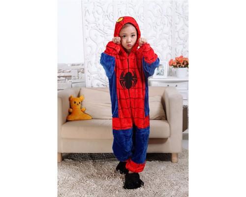 Флисовая пижама с изображением Человека-Паука