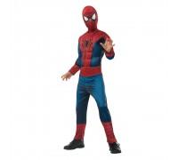 Детский костюм Человека-Паука с прорезиненными мускулами на груди, 10-12 лет