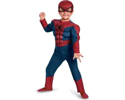 Новый костюм Человека-Паука с полумаской, 2 года