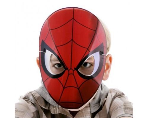 Маска Человека-Паука из картона