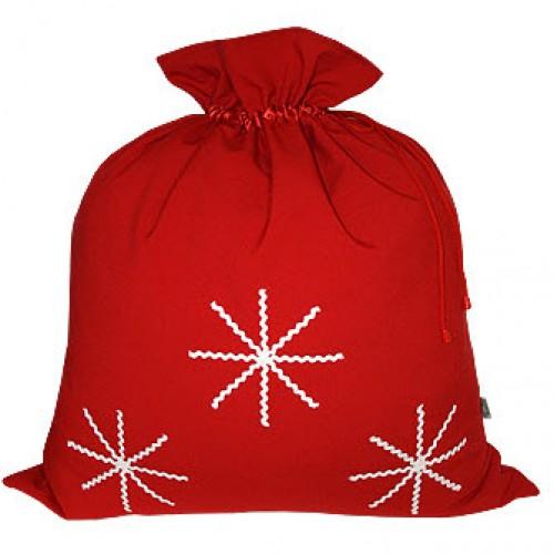 Большой новогодний мешок для подарков