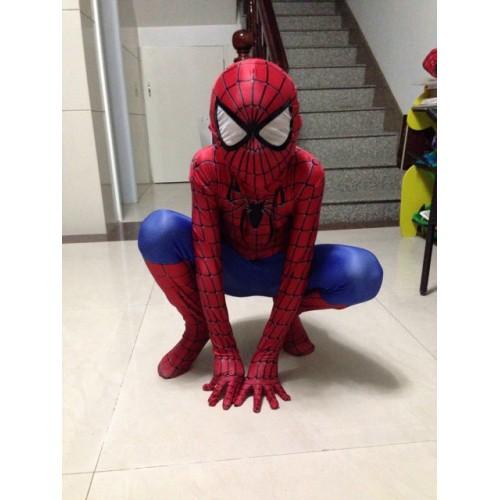 Детский облегающий костюм Человека-Паука