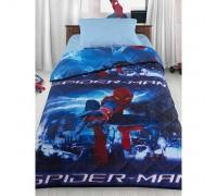 """Одеяло-покрывало """"Человек-Паук"""" + наволочка и простыня"""