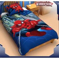 """Одеяло-панно """"Человек-Паук"""", лебяжий пух, поплин, 140x205 см"""