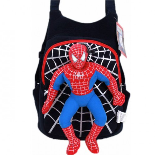 Детский рюкзак с объёмным Человеком-Пауком