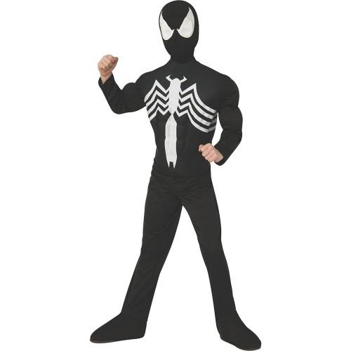 Черный костюм Человека-Паука (Венома) с мускулами