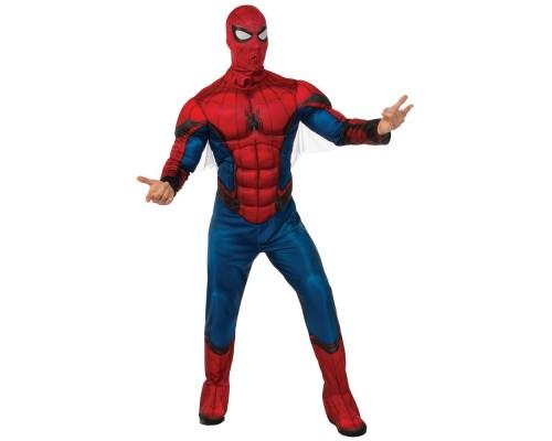 Взрослый костюм нового Человека-Паука с мускулами